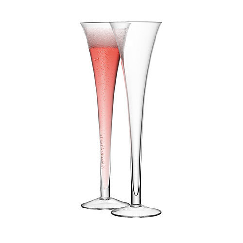 LSA Hollow Stem Giant Champagne Flutes 225ml