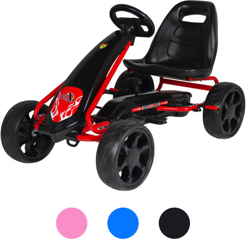 Rip-X NexGen Pedal Go Kart Kids Childrens Ride On Car Toy Racing Tyre Wheels