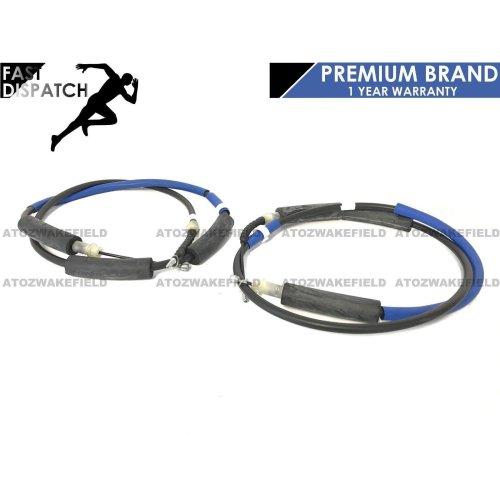FOR JAGUAR X-TYPE X TYPE 01-08 2.0 2.2 2.5 3.0 REAR LEFT RIGHT HAND BRAKE CABLES