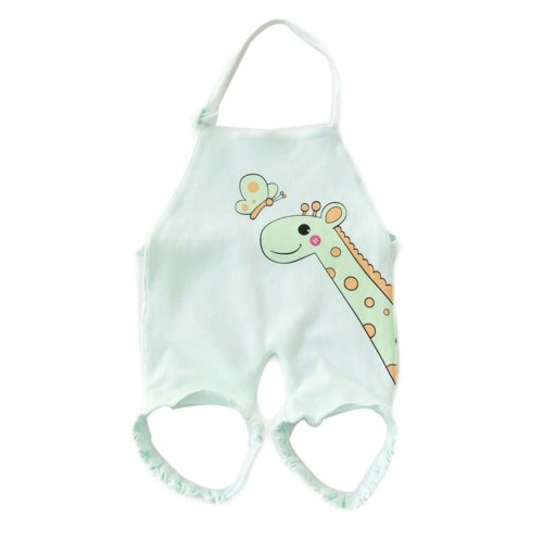 Soft Cotton Cloth Cover Layette Baby Bibs Cotton Baby Keep Warm Belly Band Suits