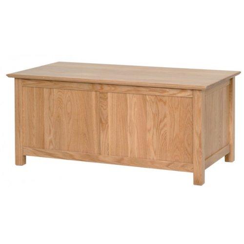 Devonshire New Oak Furniture Blanket Box