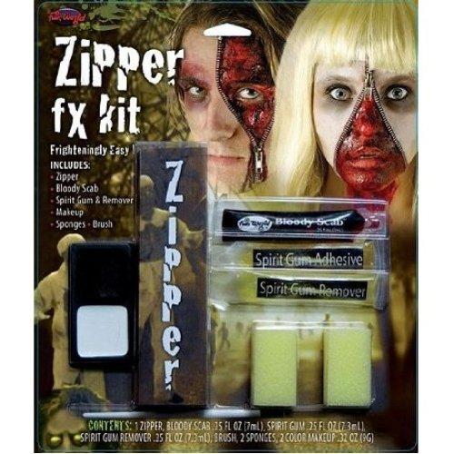 Zipper Face FX Make Up Kit | Halloween