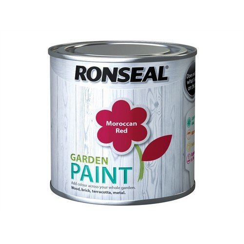 Ronseal 38268 Garden Paint Moroccan Red 250ml