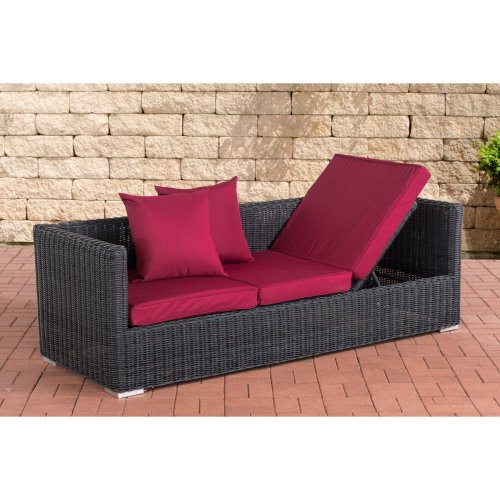 Lounge sofa Solano 5mm Ruby