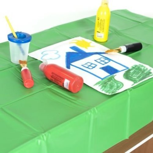 Childrens PVC Waterproof Table Cover Single