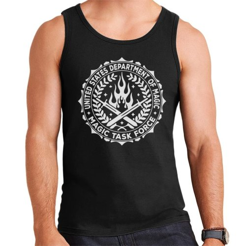 United States Magic Task Force Badge Bright Men's Vest