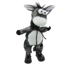 Funny Musical Dancing Electronic Stuffed Donkey Bobbleheads/Practical Jokes Toys