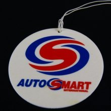 Autosmart - Air Freshener - Lemon Scent Fragrance for Car or House - Pack of 6