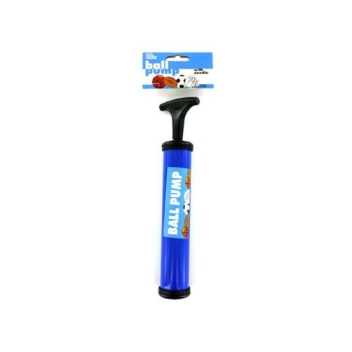 """Bulk Buys GM165-96 9-3/4"""" Ball Pump with Inflating Needle - Pack of 96"""