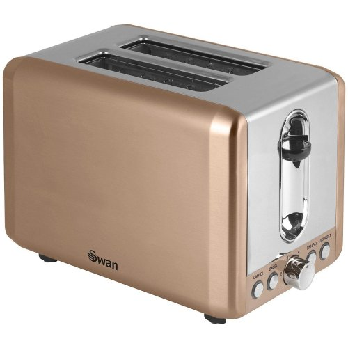 Swan Brand 2 Slice Toaster - Copper With Browning Control (Model ST14040COPN)
