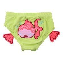Baby Boy Baby Girl Swim Shorts Reusable Lovely Infant Spa Swimwear, Red Goldfish