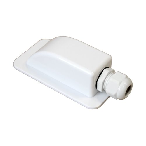 Waterproof single cable entry gland for cable diameter 3-7mm, for motorhomes, campervans, caravans, boats, solar panels, CCTV