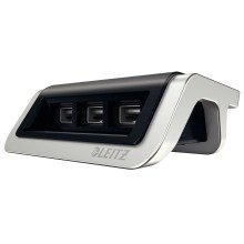 Leitz 62070094 Indoor Black,grey Mobile Device Charger