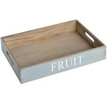 Fruit Trays - Light Blue -  fruit tray light blue