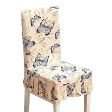 [Butterfly] Stretch Dining Chair Slipcover Chair Cover Chair Protector
