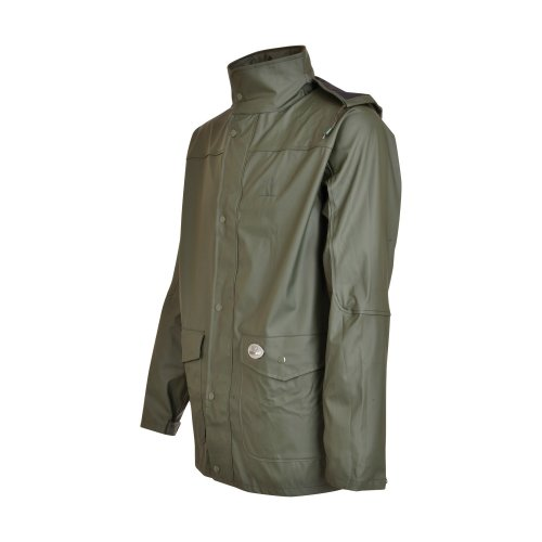 Percussion-Impersoft Hunting Jacket With Game Bag