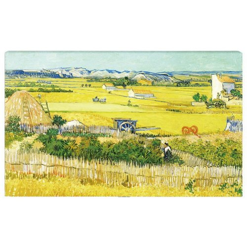 Home Creative 50-Inch TV Cloth Decorative Dustproof Cover, Harvest Field