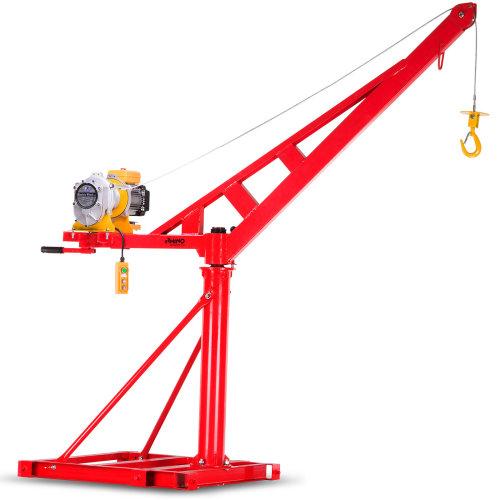 Rhino Extendable Boom Jib Crane 240V / 600KG - 25M Lift Height