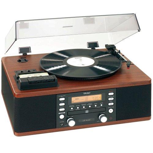 LPR500 Vinyl & Cassette Copystation in Wood Finish