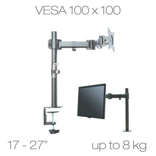 "Dsk-05 Single Arm Desk Monitor Mount 13-27"""