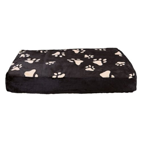 Dog Cushion Plush Cover Paw Print Design