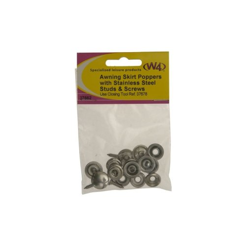 Studs, Screws & Poppers - Pack of 5