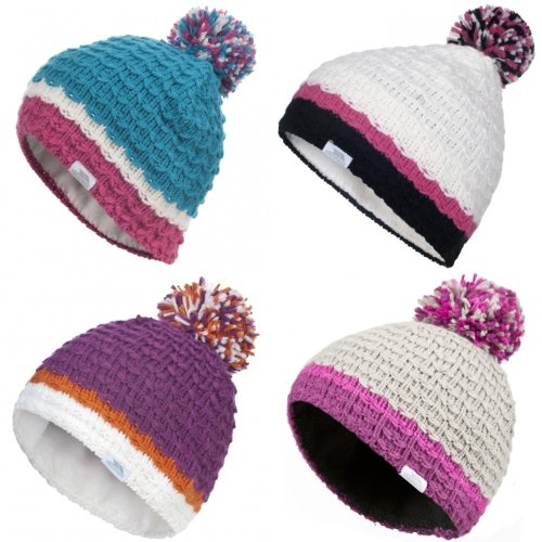 Trespass Childrens Girls Marcella Knitted Winter Hat