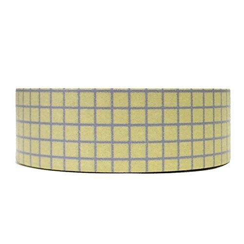 Wrapables Colorful Patterns Washi Masking Tape Lavender Gingham