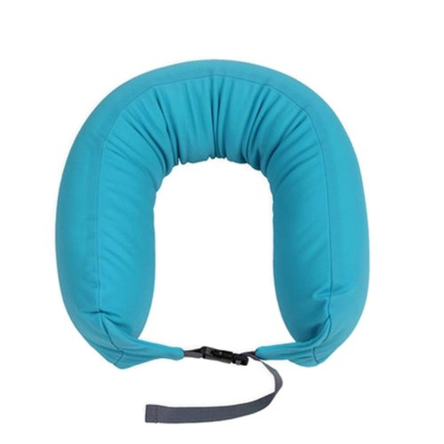 U-Shaped Neck Pillow Travel Pillow Sofa Cushion Pillow for Nap Blue