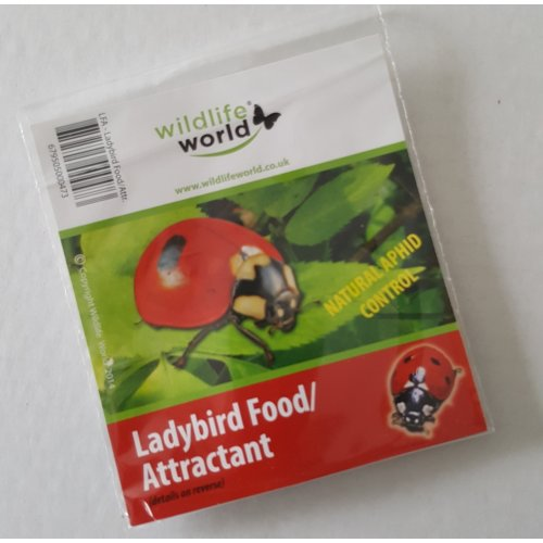 Ladybird Food / Attractant Twin Pack