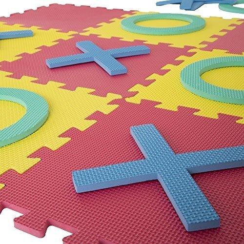 Giant Interlocking Foam Square Tic-Tac-Toe Game