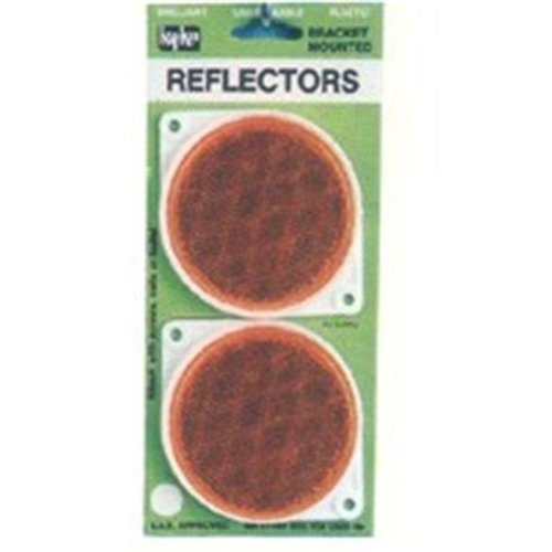 Hy-Ko Products CDRF-3A Amber Reflector - 3.25 In.