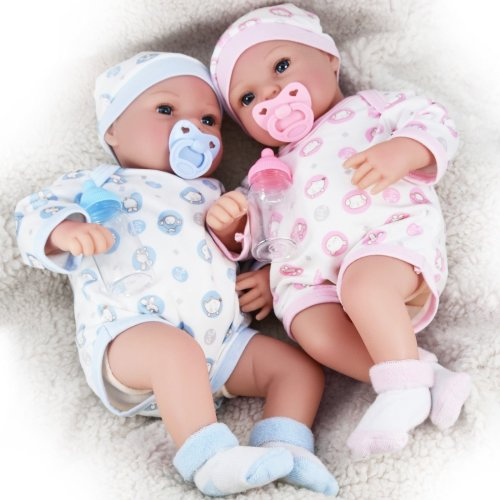 "20"" Lifelike Realistic Reborn Silicone Handmade Baby Doll"