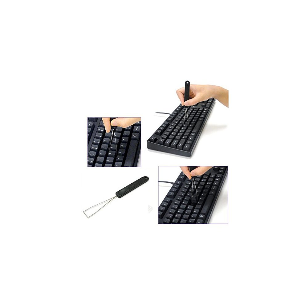 Akwox Keycap Puller Tool + 135pcs Rubber O-Ring Sound Dampeners For  Mechnial Keyboard Cherry MX Key Switch