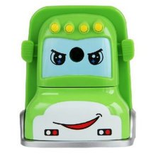 Cool Car Manual Pencil Sharpener For Office Classroom 8.5x6.5x6CM Green