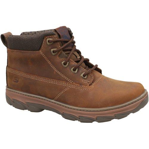 Skechers Resment 64837-CDB Mens Brown trekking shoes