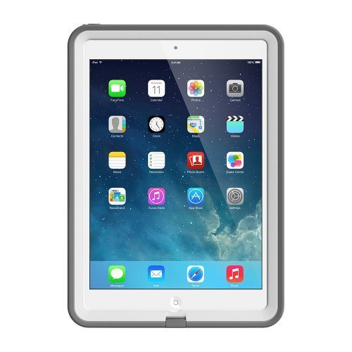 LifeProof FRE iPad Air Waterproof Case Retail Packaging WHITEGREY 1ST Generation iPad Air Only