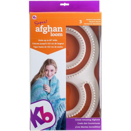 """Knitting Board Super Afghan Loom 11""""X19""""-"""