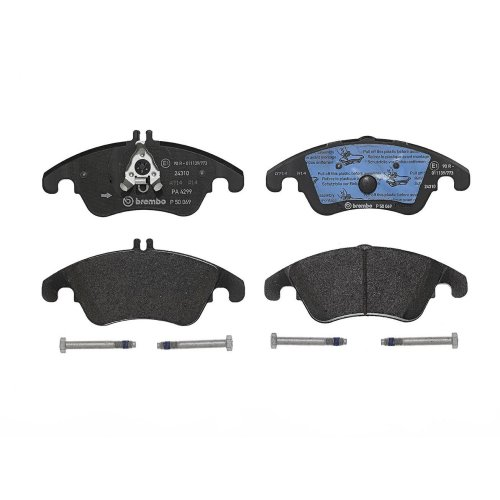Brembo P50069 Front Disc Brake Pad - Set of 4