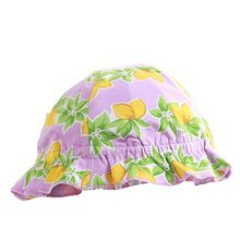 Printing Flower Outdoor Summer Sun-resistant Infant Hat Baby Fisherman Cap