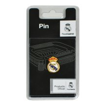 Real Madrid Crest Pin Badge -  real madrid crest pin badge