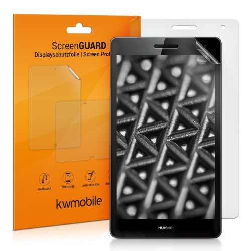 kwmobile 2x Screen Protector for Huawei MediaPad T3 7.0 3G - Anti-Scratch, Anti-Fingerprint, Matte Display Film for Tablet - Set of 2
