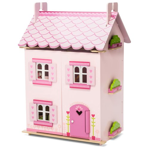 Le Toy Van Wooden My First Dreamhouse Doll's House (with furniture)