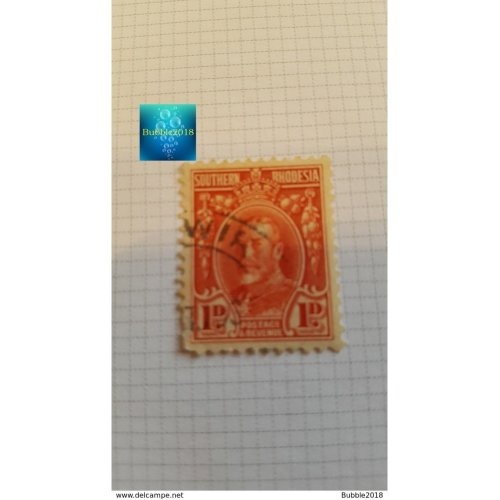 """Southern Rhodesia(Zimbabwe) 1931 """"King George V""""1 d - British penny (old)"""