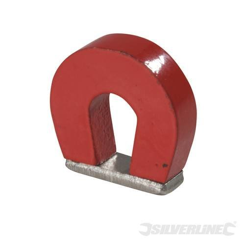Silverline Horseshoe Magnet 25 x 22 x 8mm