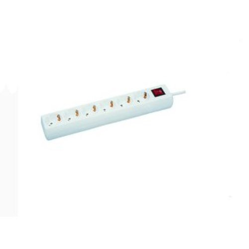 Microconnect GRU0063W 6AC outlet(s) 3m White power extension