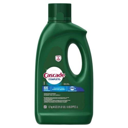 Cascade 1699933 45 oz Complete Fresh Scent Dishwasher Detergent- pack of 4