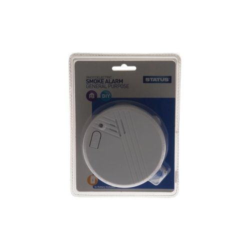 9V Photoelectric Smoke Alarm
