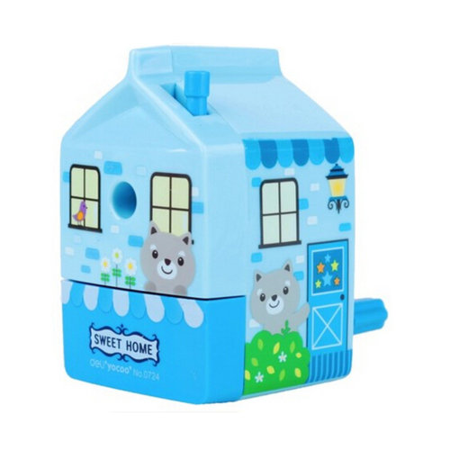 Kids Cute  Manual Pencil Sharpener For Classroom School Stationery?house