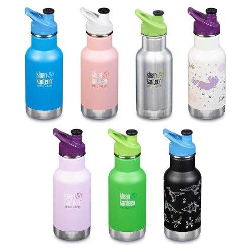 Klean Kanteen Kids - Vacuum insulated drinks bottle - 12oz/355ml with Loop Cap